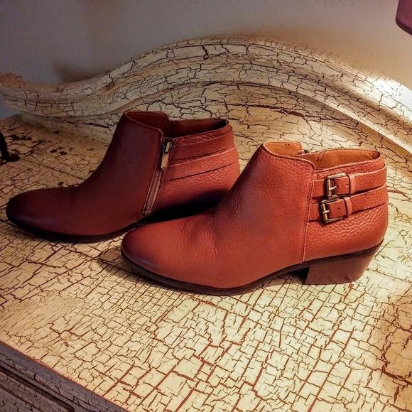 f74e0df5d Sam Edelman Petal Leather Ankle Boot Size 9 1 2. M 5aee55c2739d48043817e6c4